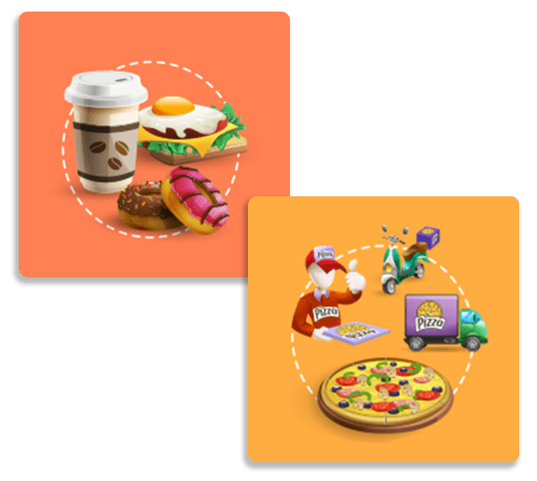 e-build - υπηρεσιες παροχης - foodOrder app